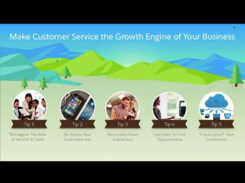 Service Trends Webinar:  5 tips to GROW your business through customer service