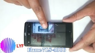 LYF Flame 7 LS 4006 touch screen replace. width=