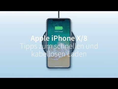 Apple iPhone X und iPhone 8: Tipps zum schnellen und kabellosen Laden
