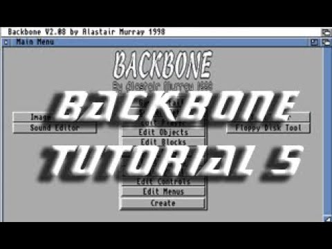Backbone Amiga Tutorial 5