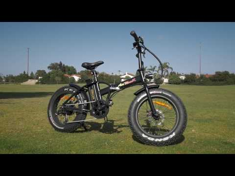 Enjoy A Ride on A Day Out with Addmotor MOTAN M-150 Electric Folding Bike