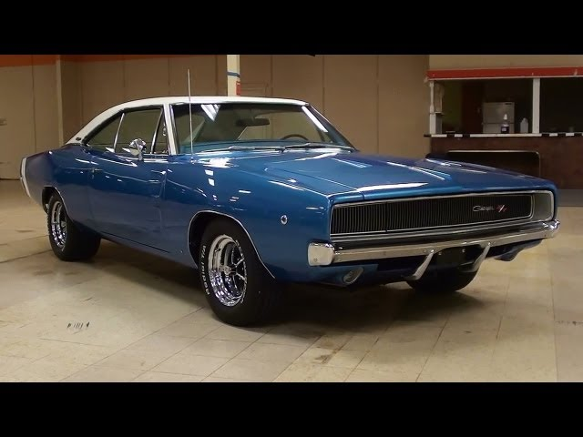 1968 Dodge Charger RT 440 V8 Mopar Muscle Car