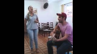 Fabiana e Gabriel acústico música calma