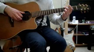 Boostee - pop corn - how to play tuto guitare YouTube En Français