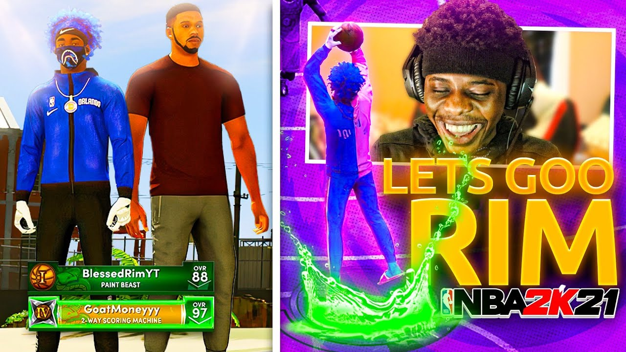 Truly Money - I reunited with my toxic duo on nba 2k21 and things went left! (His contract is expired🤣)
