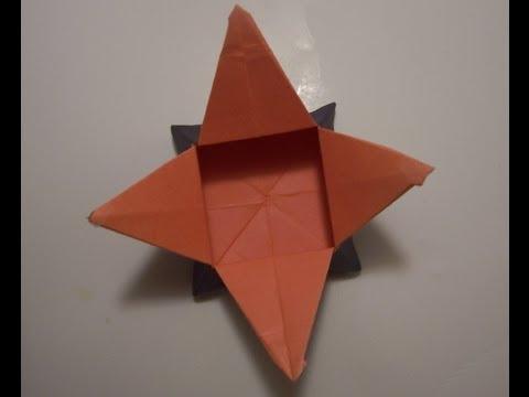 كيف تصنع علبه نجوميه من ورق ?