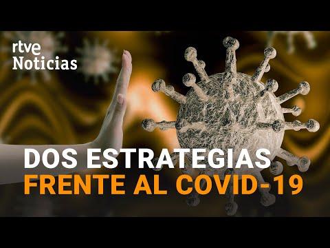 BARCELONA recluida y en MADRID todo abierto, dos maneras DIFERENTES de encarar la pandemia | RTVE