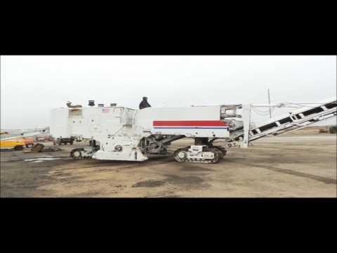 2002 Roadtec RX60C milling machine for sale | no-reserve Internet auction February 23, 2017