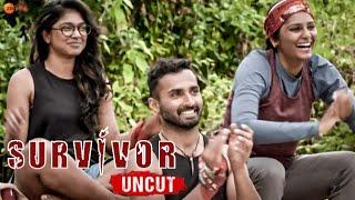 Survivor Uncut Episode 10 Review | Survivor Zee Tamil | Arjun sarja |Srushti Dange VS VJ Parvathy