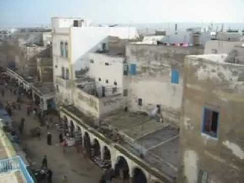Rooftop view of Essaouira  Morocco  Maroc