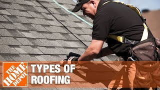 A video examples various types of roofing.