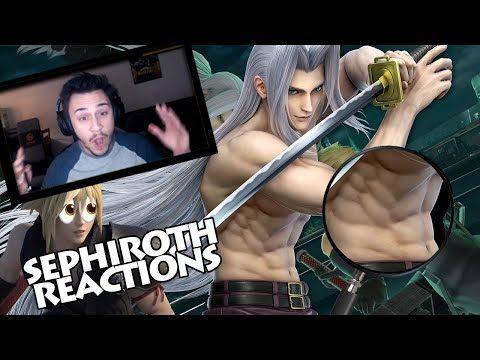 Sephiroth in Smash Ultimate Reactions