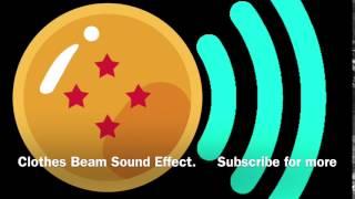 Clothes Beam Dragon Ball Z Sound Effect