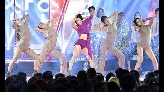 Lia Kim performance   2017 SBS Super Model Contest