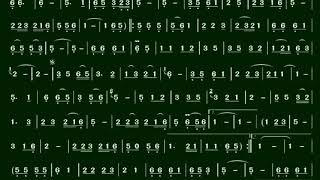 4.歌聲戀情(Eb)伴奏-(簡譜)