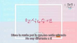 【SUB ESP】 Comiendo Solo (Hyunsik ft. Luizy)