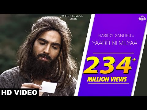 Yaarr Ni Milyaa Hardy Sandhu Song Lyrics