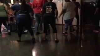 Holding On Line Dance - New Orleans LA