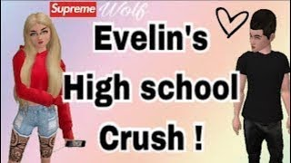 Avakinlife: Evelyn's high school crush part 3!!