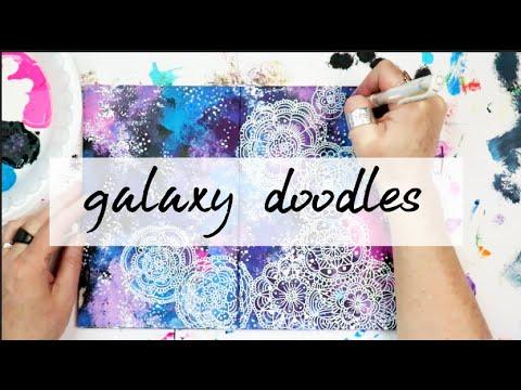 galaxy doodles