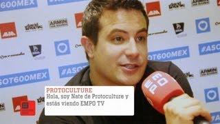 Protoculture ASOT 600 Entrevista 2013