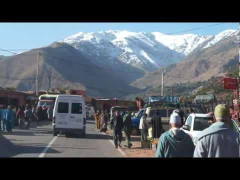 Beautiful Atlas Mountains, Morocco, 2012