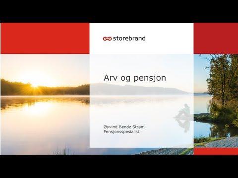 Storebrand – arv og pensjon
