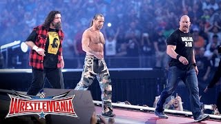 """Stone Cold"", HBK and Mick Foley make a surprise appearance: WrestleMania 32 on WWE Network"