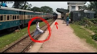 The MOST DANGEROUS PASSING (BANGLADESH RAILWAY)