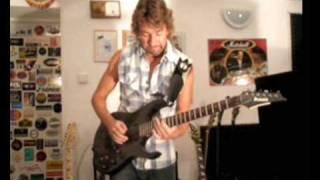 Hard Rock Instrumental Solo Guitar Tune (Ibanez Prestige)