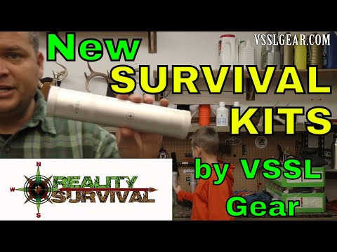 Sweet Survival Kits By VSSL Gear!