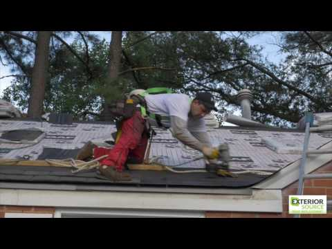 The Roof Installation Process - Exterior Source