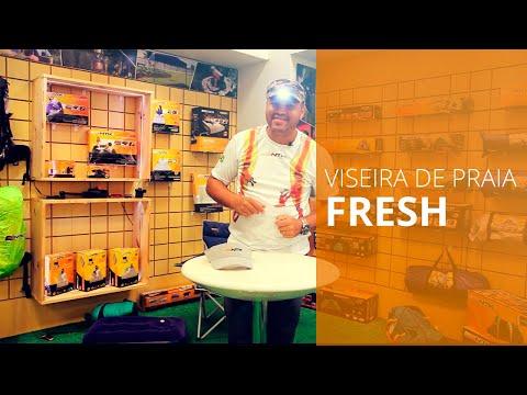 Viseira Fresh com led - Nautika