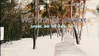 We Don't Talk Anymore | BTS  Jeon Jungkook&Park Jimin, Charlie Puth