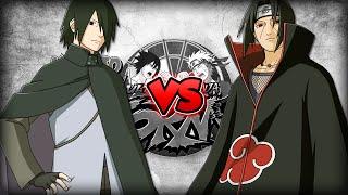 Sasuke Adulto Vs Itachi [Naruto Storm 4]