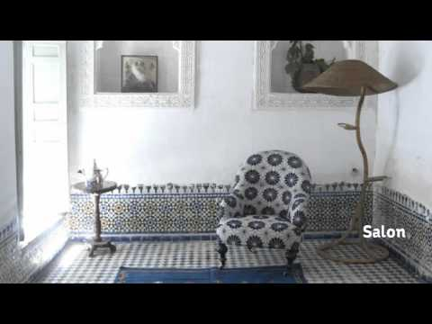 Moroccan Landmark Riad for Sale in Fez / Riad a Vendre Fes Maroc