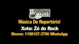 Repertório Xote - Zé do Rock - Fernandinho Do Acordeon