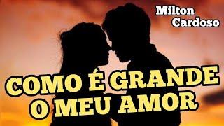 Como é grande o meu amor por você - Milton Cardoso