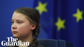 Watch 16-year old Greta Thunberg's emotional speech to European Union leaders