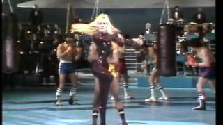 Heather Parisi Eyes of the tiger