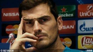 15.09.15 - Dynamo - Iker Casillas & Porto - media day - NSC  Olimpiyskiy