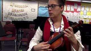 Ms Olah's music class, essential elements violin, #18