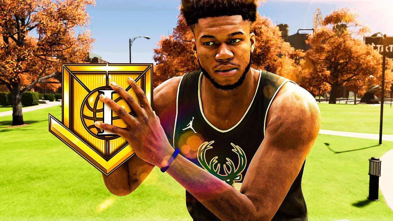 Dignify2K - I HIT ELITE 1 on my GIANNIS ANTETOKOUNMPO BUILD in NBA 2K21