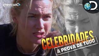 Kate Winslet escala montanha e come minhocas - Celebridades à Prova de Tudo