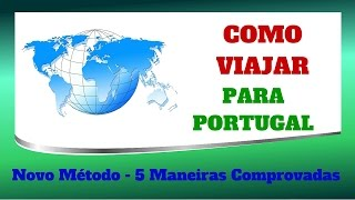 Como viajar - Barato para portugal