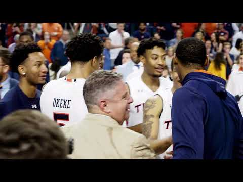 Auburn Basketball downs No. 5 Tennessee  Shot and edited by Cameron Brasher — video editor.