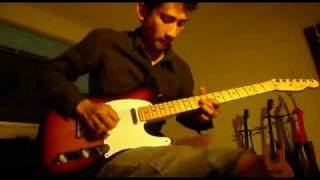 Aerosmith - Crazy (Guitar solo part cover) by Doddy