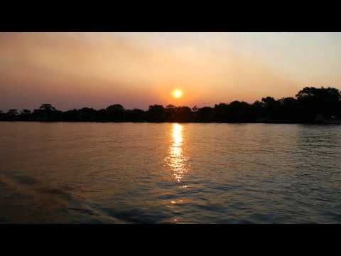Sunset on the Chobe River, South Africa – 2 Idiots Abroad