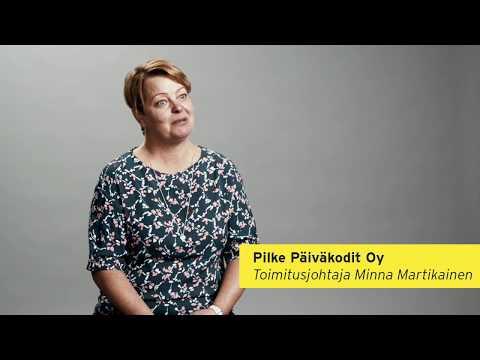 """Pilke Päiväkodit Oy (""""Pilke"""") on laadustaan tunnettu ja räväkästi kasvava markkinoiden toiseksi suurin varhaiskasvatuspalvelujen tarjoaja. Yrittäjä: Minna Martikainen ja Kai Seppälä."""