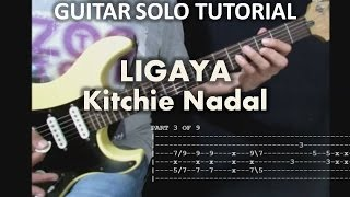 Kitchie Nadal - Ligaya (Tutorial: Guitar Solo) with tabs